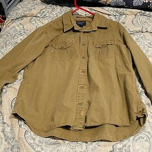 Men's A.E. long-sleeve button up shirt